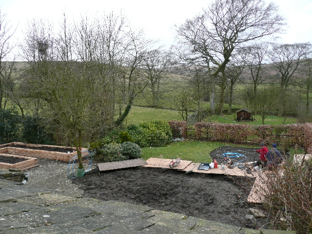 Garden During the Project.