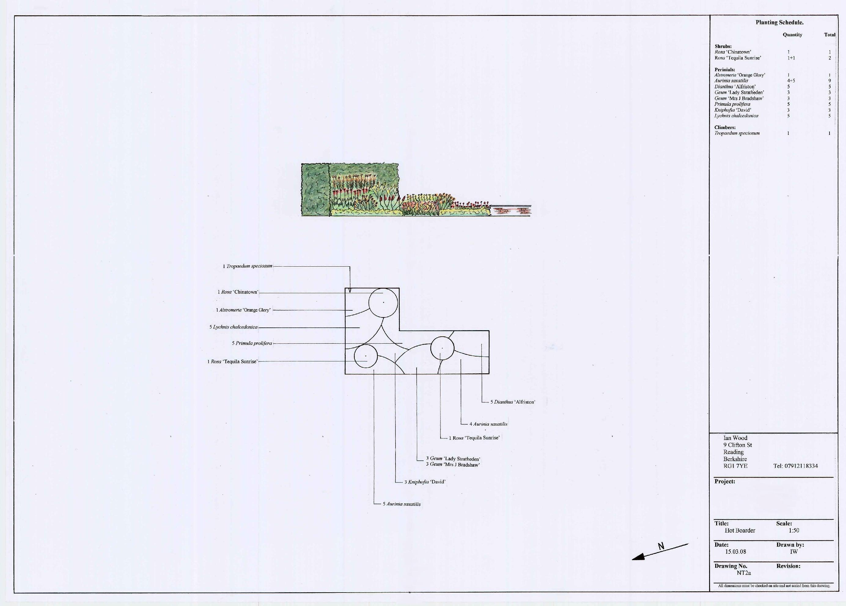 Rendered Planting Plan.