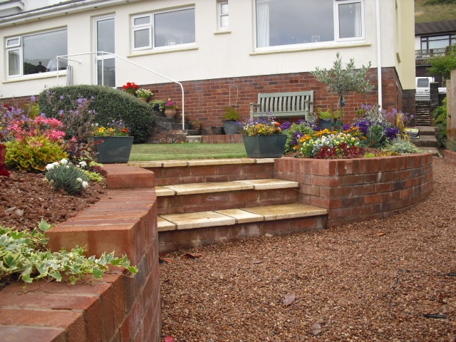 Garden Retaining Wall Design Uk Container Gardening Ideas